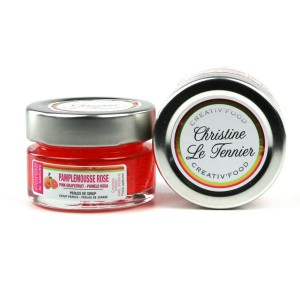 Christine Le Tennier Pink Grapefruit Pearls