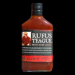 Rufus Teague Blazin Hot Sauce