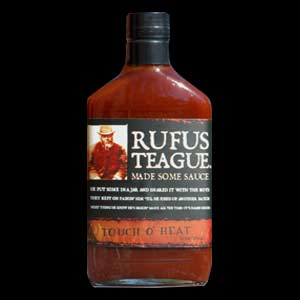 Rufus Teague Touch Of Heat Flask