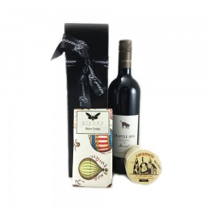 Gourmet Food Hamper - Merlot and Chocolates