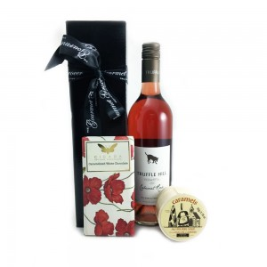 Gourmet Food Hamper Rose and Chocolate