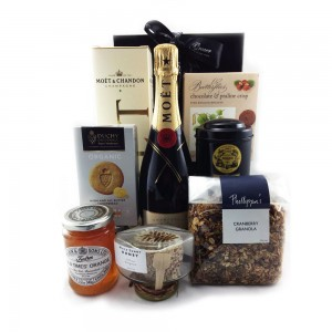 Gourmet Food Hamper - Champagne Breakfast