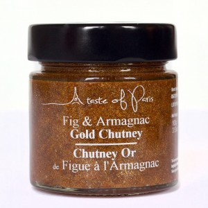 A Taste of Paris Fig Armagnac Chutney