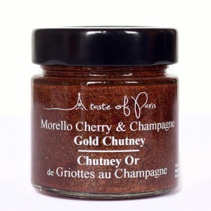 A Taste of Paris Morello Cherry & Champagne Chutney