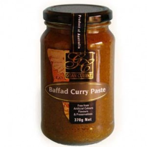 Goan Cuisine Baffad Curry Paste