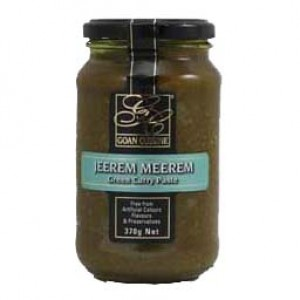 Goan Cuisine Green Curry Paste