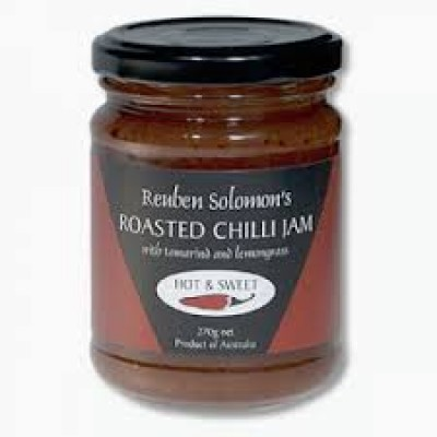 Reuben Solomon's Roasted Chilli Jam  Hot & Sweet