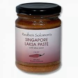 Reuben Solomon's Singapore Laksa Paste