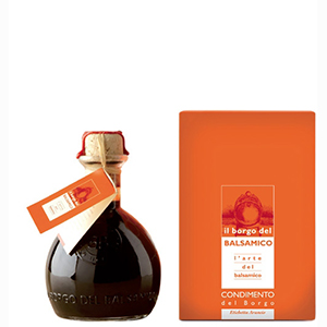 Borgo Del Balsamico Balsamic Vinegar 250mls Orange Label