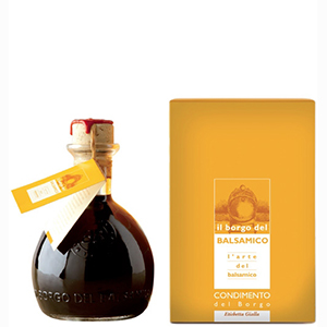 Borgo del Balsamico  Balsamic Vinegar Yellow Label