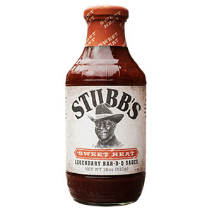 Stubb's Barbecue Sauce Hickory Bourbon