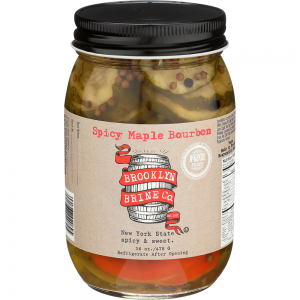 Brooklyn Brine Company Spicy Maple Bourbon Pickles