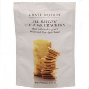 Grate Britain Cheddar Crackers 45gm
