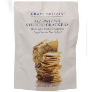 Grate Britain Stilton Crackers 45gm