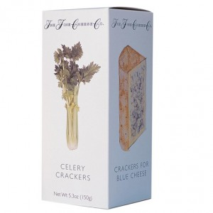 The Fine Cheese Company Celery Crackers 150g