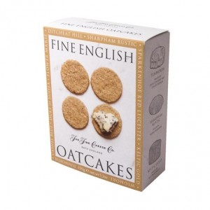 The Fine Cheese Company Oatcakes Fine English Oatcakes 125g