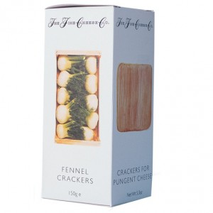The Fine Cheese Company Fennel Crackers 150g