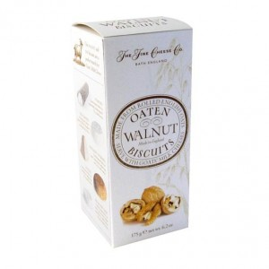 The Fine Cheese Company Walnut Oaten Biscuits 175g