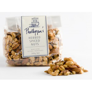 Phillippa's Herbed Spiced Nuts