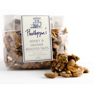 Phillippa's Honey and Orange Roasted Nuts