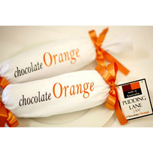 Pudding Lane Chocolate Orange Log 1 kilo