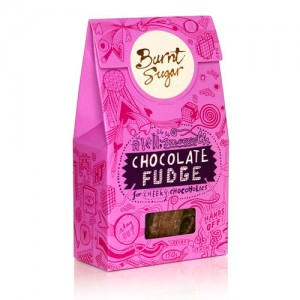 Burnt Sugar Chocolate Fudge