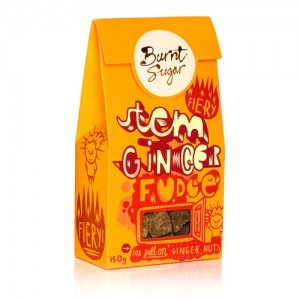 Burnt Sugar Stem Ginger Fudge