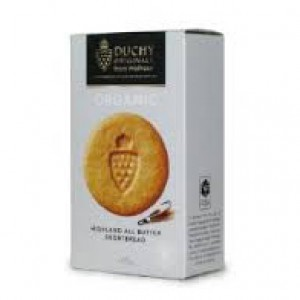 Duchy Organic Ginger Butter Shortbread Biscuits 150g