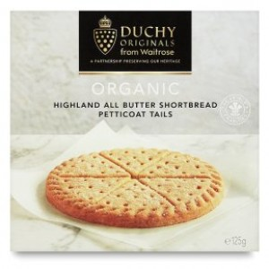 Duchy Organic Petticoat Tails Biscuits 125g