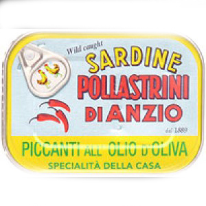 Pollastrini Sardines with Chilli