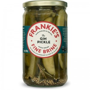 Frankies Fine Brine Gin Pickles
