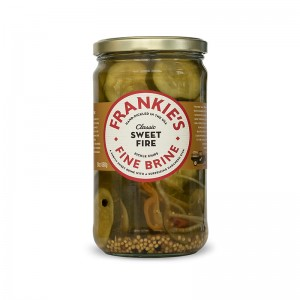 Frankies Fine Brine Sweet Fire Pickles