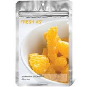 Fresh As Freeze-Dried Mandarins
