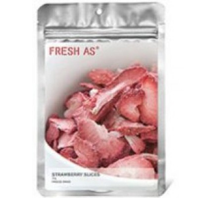 Fresh As Freeze Dried Strawberry Slices