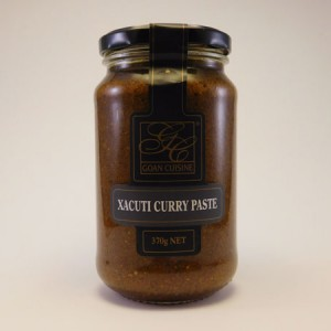 Goan Cuisine Xacuti Curry Paste