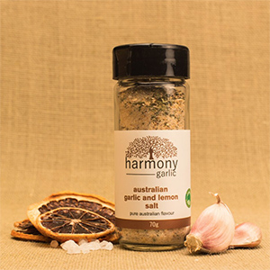 Harmony Australian Garlic Lemon Salt