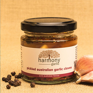 Harmony Pickled  Australian Garlic