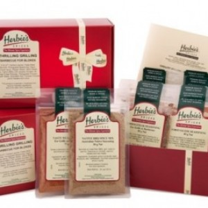 Herbie's Spices Thrilling Grilling Barbecue For Blokes Spice Kit