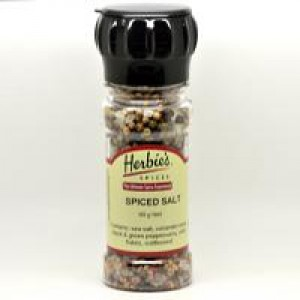 Herbie's, Spiced Salt Grinder Bottle