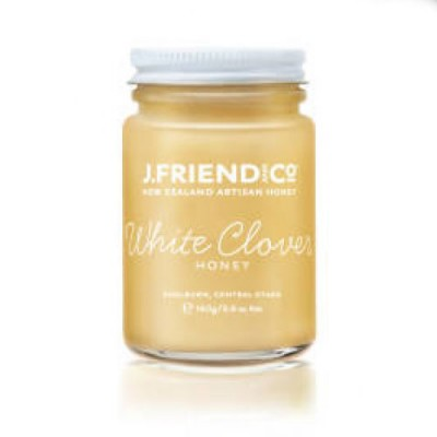 J Friend New Zealand Artisan Organic White Clover Honey
