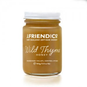 J Friend New Zealand Artisan Organic Wild Thyme Honey