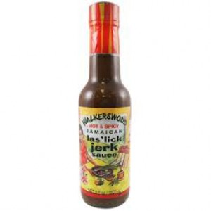 Walkerswood Hot Spicy Las lick Jerk Sauce