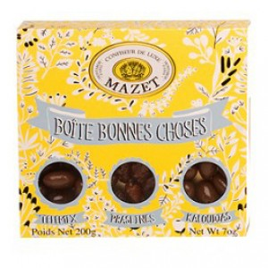 Mazet Bonnes Choses Yellow Gift Box