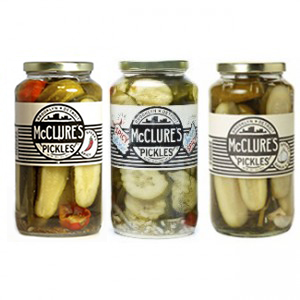 McClure's Pickles Trio Pack