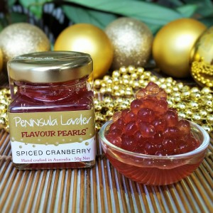 Peninsula Larder Spiced Cranberry Flavour Pearls
