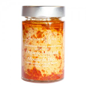 A Taste Of Paris Organic Tomato & Smoked Spices Mustard