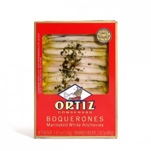 Ortiz White Anchovy  Fillets