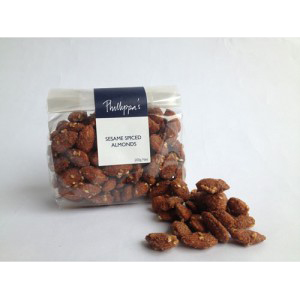 Phillippa's Sesame Spiced Almonds