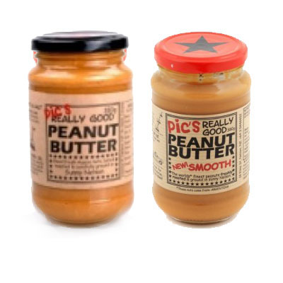 Pic's Really Good Peanut Butter - Coarse and Smooth Twin