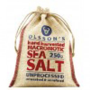 Olsson's Hand Harvested Sea Salt in Hessian Sack